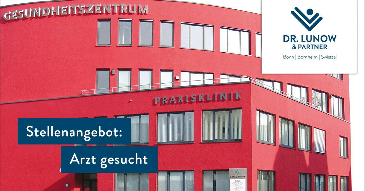 STELLENANGEBOT: FA/FÄ für Allgemeinmedizin/Innere Medizin für unseren Standort in Bornheim