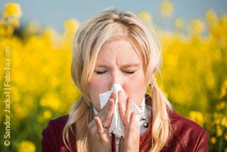 Damit sich aus Heuschnupfen nicht Asthma entwickelt
